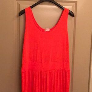 Dresses & Skirts - Orange Maxi dress